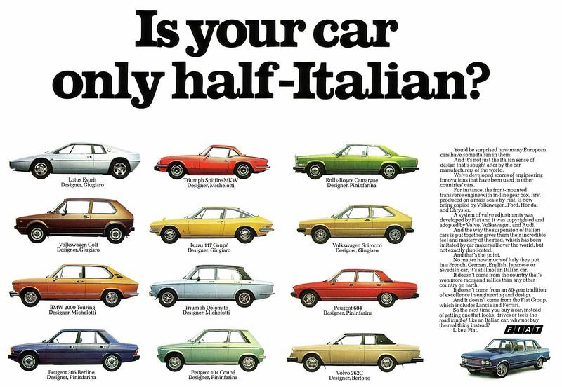 Fiat 132 (1978) no half-Italian