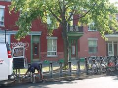 金, 2012-08-03 09:26 - レンタル自転車置き場掃除中