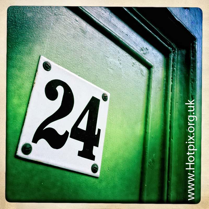 24,number,numbers,twenty,four,twentyfour,number24,numbertwentyfour,green,door,no,square,hipstamatic,iphone,shot,tony,smith,tonysmith,hotpix,tonysmithhotpix,tonyhotpix,series,sequence,set,app,Berlin,germany,city