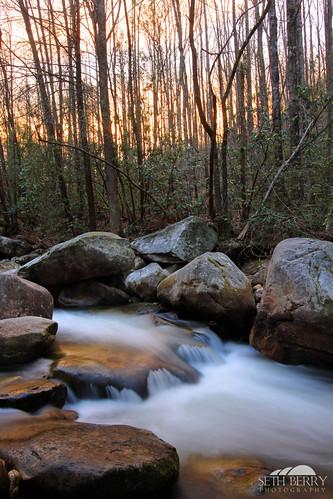 park sunset mountains sc nature creek river evening jones stream photographer state south southcarolina gap carolina middle greenville saluda jonesgap middlesaludariver jonesgapstatepark sethberryphotography