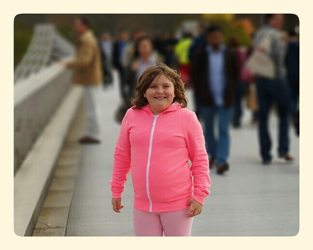 Millennium Bridge Tourist