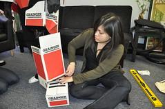Assembling the Grainger Box Man