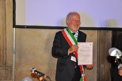 The Mayor of Venice Giorgio Orsoni received recognition as ...