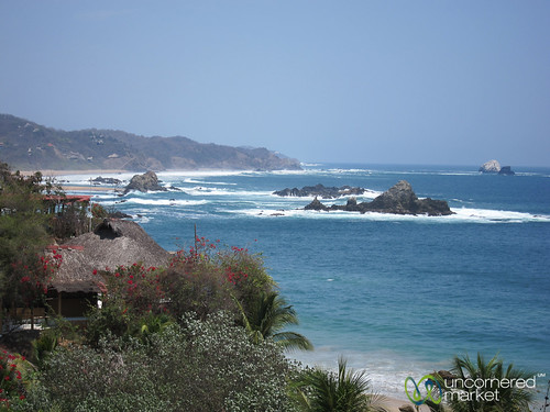ocean beach mexico coast pacificocean oaxaca mazunte pacificcoast tropicalparadise beachvacation oaxacastate mazuntebeach