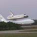 Space Shuttle Discovery Flyout