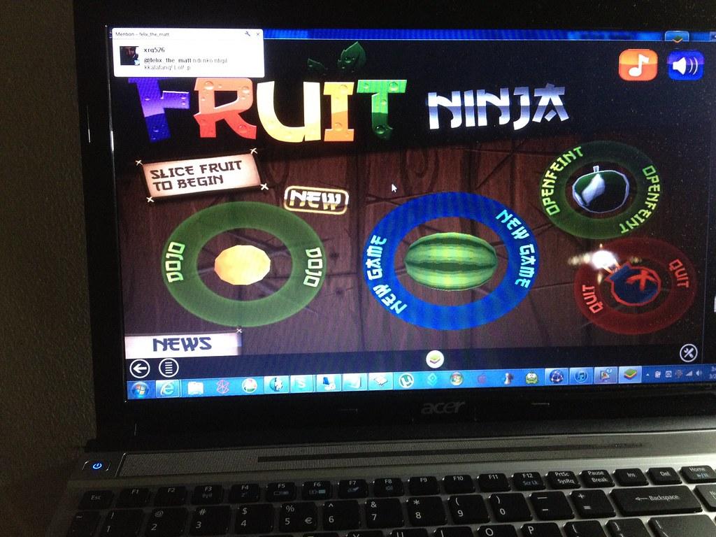 Fruit Ninja for PC! Oh yeah! | FelixTheMatt | Flickr