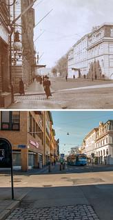 Gothenburg, Brunnsparken 1907 / 2012