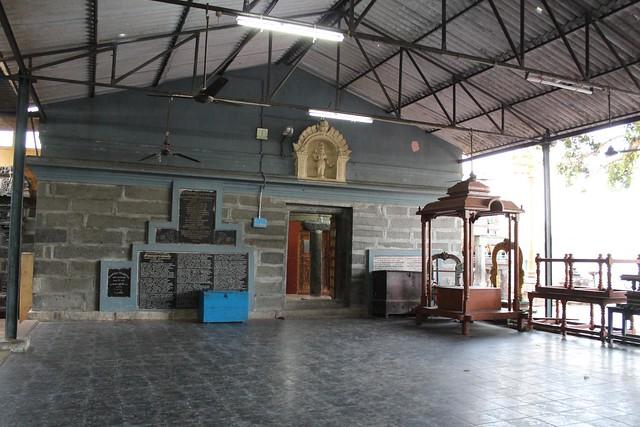 Entrance to the Shiva shrine