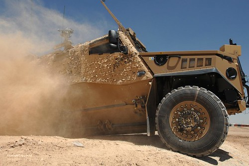 Foxhound Patrol Vehicle in Afghanistan | by Defence Images