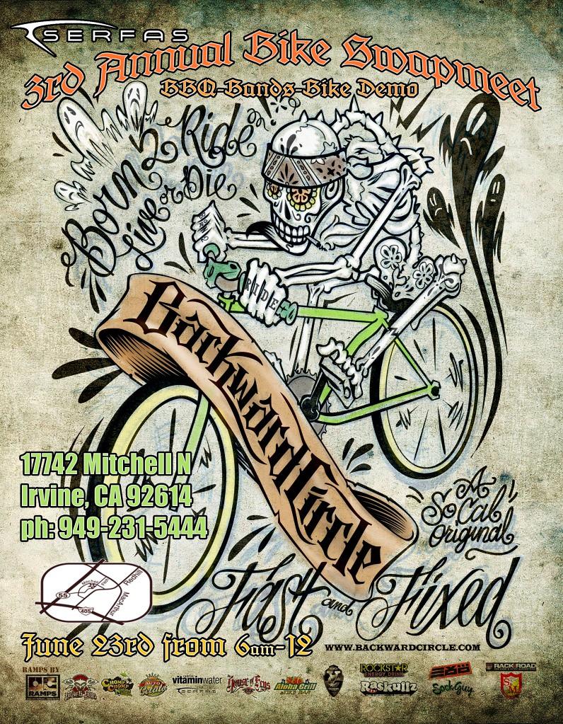Bike Swap Meet Irvine, CA 2012   This Saturday June 23 ...