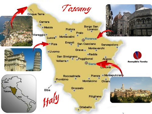 Family from Norway touring Tuscany in Italy #1 | by RennyBA