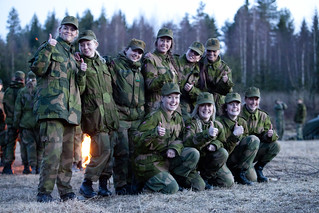 Norwegian Military Girl's Camp 2012 | by Metziker