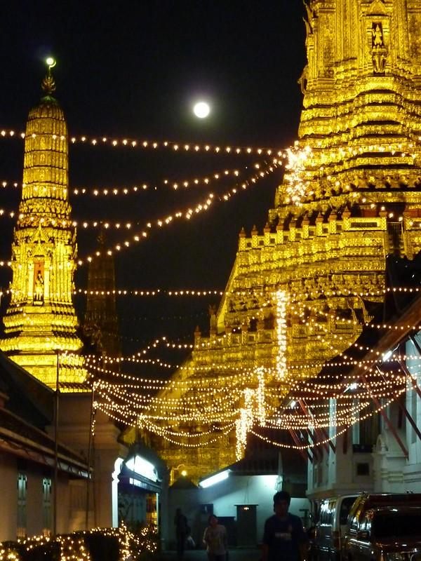 081 Full Moon Night, Wat Arun, Bangkok