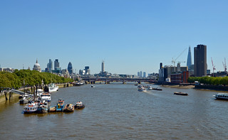 London from Waterloo Bridge #2 | by It's No Game