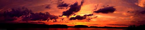 park pink trees sunset red panorama orange nature water clouds 35mm canon landscape eos long arm pennsylvania f14 vivid reservoir pa 7d photostitch longarm 35l f14l