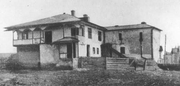 1849 - Casa Procopoaiei pe Podul de Pamant (Calea Plevnei) - C.P. Szathmary