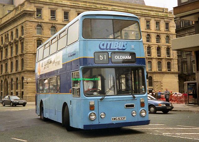 Citibus XWG633T