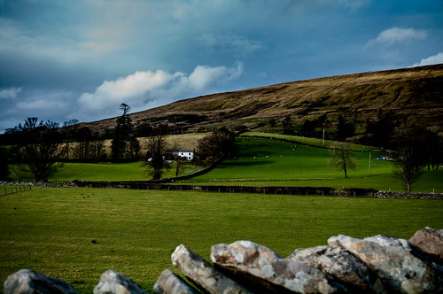 blue trees england white green wall landscape photography spring northwest pentax smith dent cumbria harvey northern drystonewall 2016 northernengland countrysidewalks harveysmithphotography2016 dentadale