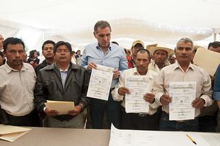 Gobierno de Oaxaca, Firma de acuerdo de paz territorial La Sabana Copala y Santa María Yucunicoco, Oaxaca | by GobOax