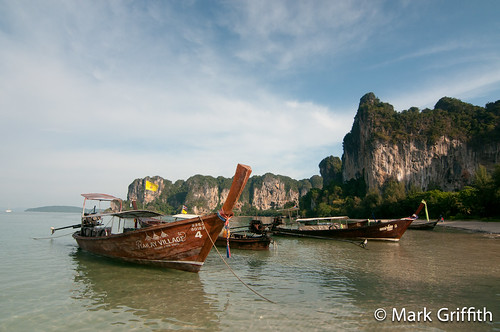 Long Boats at Railay | by Mark Griffith