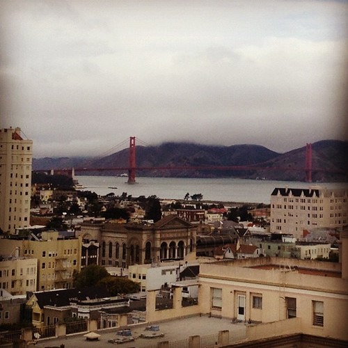 the view today #sanfrancisco   by sarahwulfeck