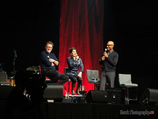 Jonathan Frakes, Michael Dorn and Marina Sirtis   by Hawk Photogrpahy