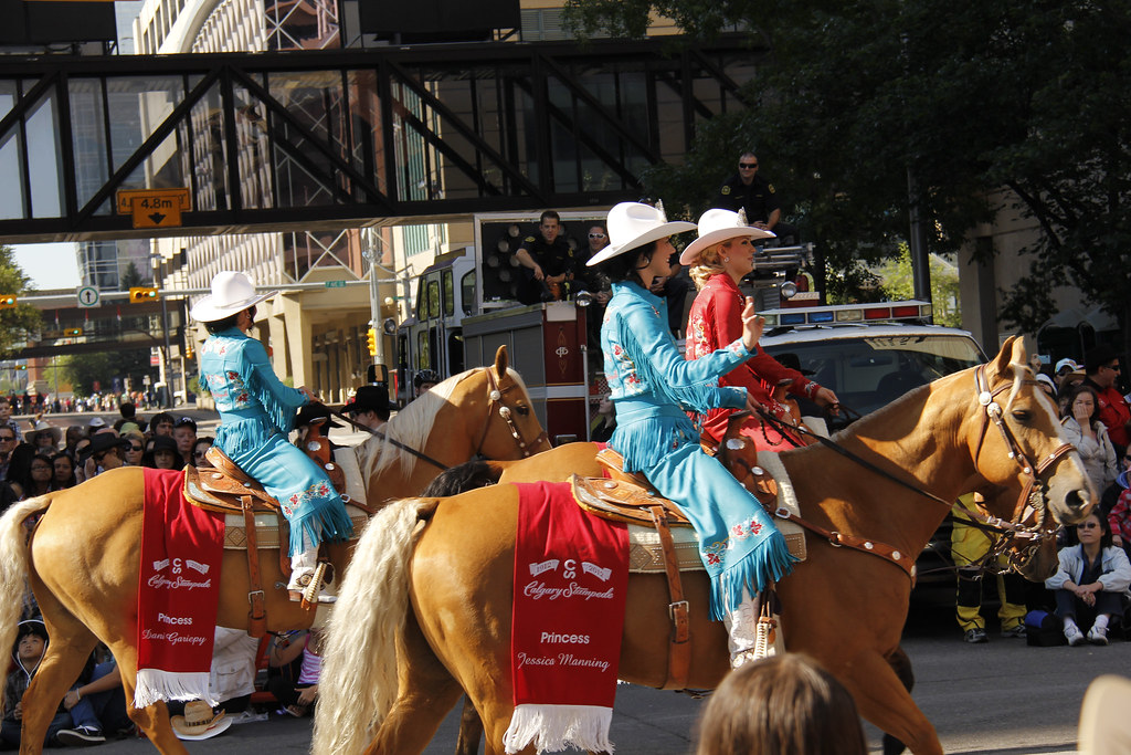 Stampede Queen Amp Princess Calgary Stampede Parade 2012
