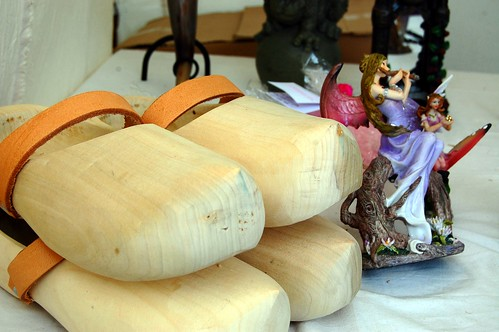 Wooden clogs at Burgfest | by @PensieveRobin