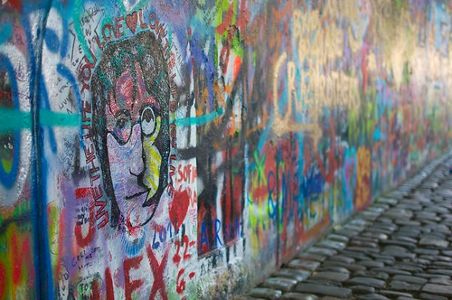 Lennon wall...