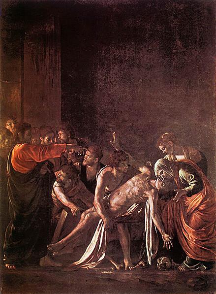 The Raising of Lazarus: 1608-09