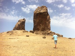 Roque Nublo in Gran Canaria (1.813 m.o.h.)