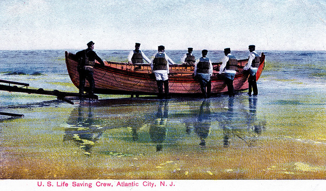 Life Saving Crew, Atlantic City, New Jersey, 1909