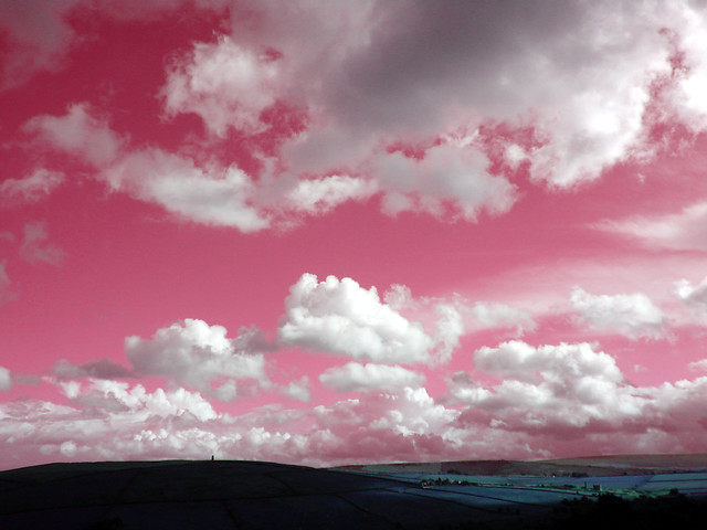 Hilly view 47 (clouds) 2