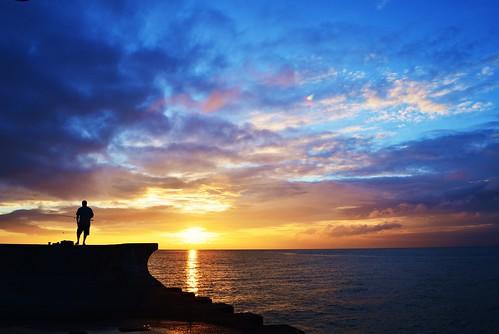 sunset lake ontario canada water clouds burlington sunrise person pier fishing nikon bfg d5100 bestofblinkwinners