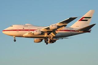 A6-ZSN Dubai Royal Flight 747SP-Z5 Heathrow 24/10/2006 | by Tu154Dave