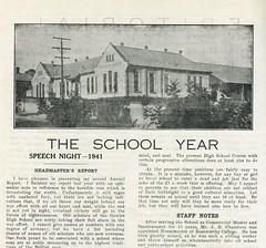 Gawler High School Year book 1941 John H. Chambers