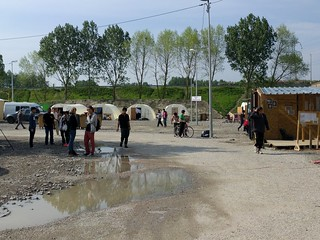 The Grande-Synthe camp, 11 May 2016 | by oscepa