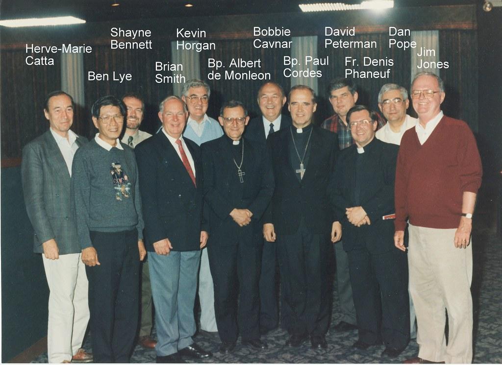 History CF | Founding Community Leaders in Dallas | Catholic