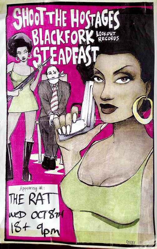 Shoot the Hostages, Black Fork, Steadfast at The Rat