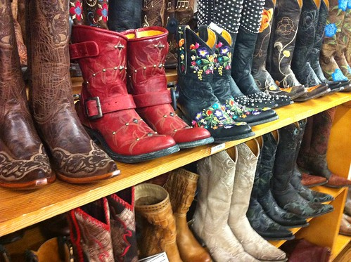 Shopping for Cowboy boots on South Congress, Austin | by heatheronhertravels
