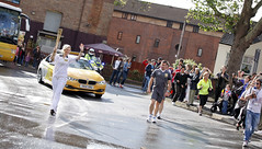 Olympic Torch Relay - Emma Vickers