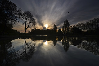 Sunrise over still water | by blinkingidiot