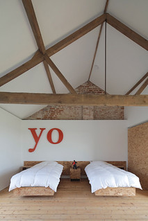 ochre barn in norfolk, england | by the style files