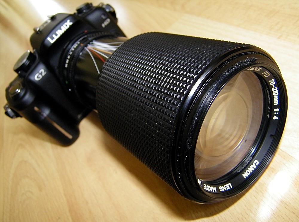 Panasonic Lumix Dmc G2 With Canon Fd 70 210mm F4 Lens 140 Flickr