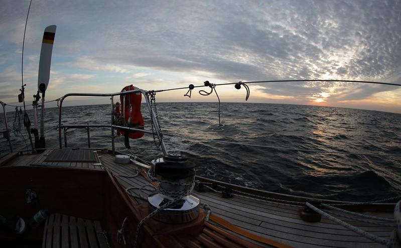 Auf dem Weg von Heiligenhafen nach Bornholm (30h)