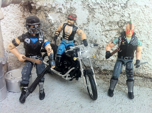 Biker Punk Street Thug Zartan and friends 2