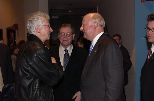 Sig Hecker Pete Domenici and Samuel Bodman
