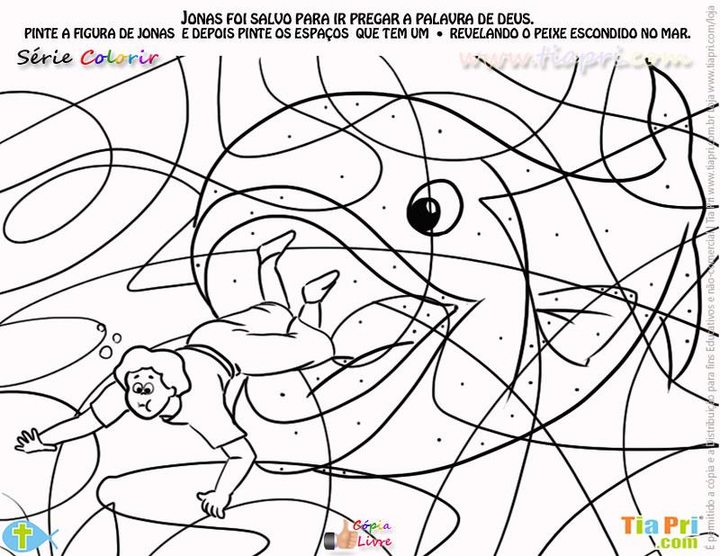 Serie Colorir Desenho Jonas Tiapri Tia Pri Serie Desenhos Flickr