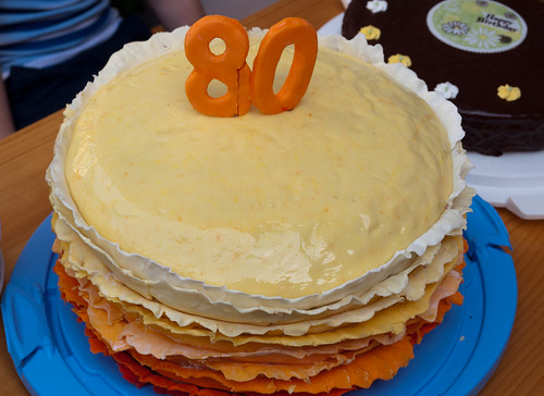 Ruffle Cake for Grandma's 80th Birthday | by - Caillean -