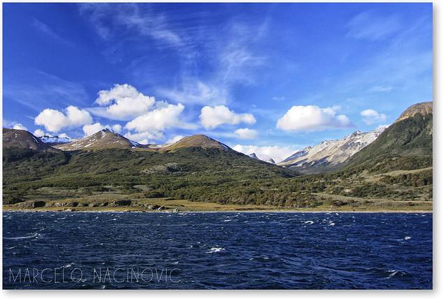 Canal de Beagle em Ushuaia